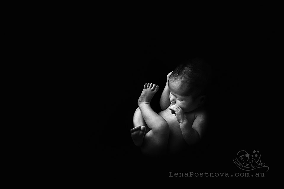 Newborn session sladeshow - Newborn photographer Sydney - Baby photography - cute baby - ultrasound like baby photo - art photography - mother - motherhood - pregnancy