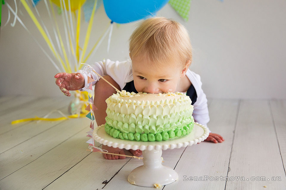 Cake Smash Sydney - 1st Birthday Photos - Lena Postnova ...