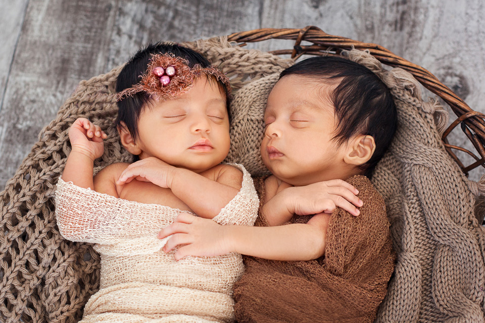 Twin newborn photography Sydney  - Newborn_Photography_Sydney_Newborn_Photographer_Lena_Postnova_Twins_Babies_Shivaani_Yashraaj_1_month_old_004